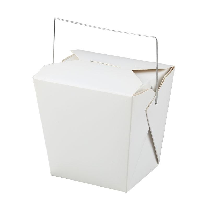 White Cardboard Box-Wire Handle,White Cardboard Box-Wire Handle