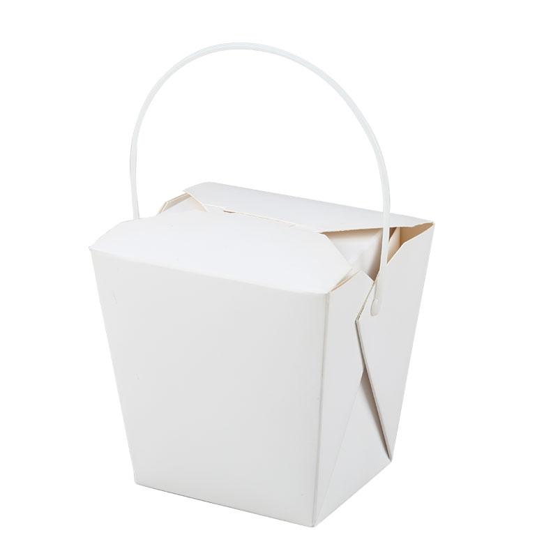 White Cardboard Box-pp Handle,White Cardboard Box-pp Handle ,White
